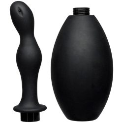 Kink Flow Flush Silicone Anal Douche & Accessory