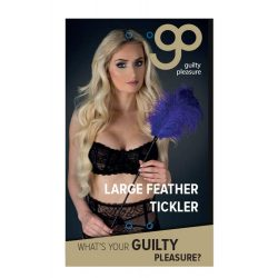 GP Large Feather Tickler Purple