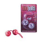 Marbilized Duo Balls Red