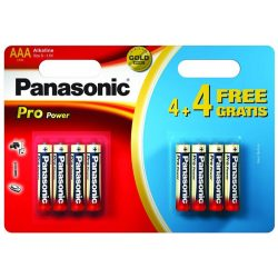 Panasonic Pro Power Battery AAA 6+4