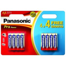 Panasonic Pro Power Battery AA 6+4