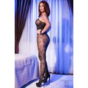 CR 4097 S/L Black Superstretch Bodystocking