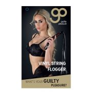 GP Vinyl String Flogger Black