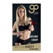 GP Feather Crop Black Red