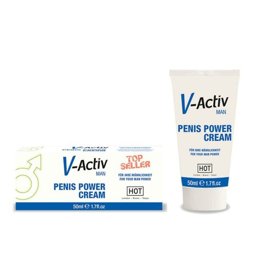 HOT V-Activ penis power cream for men 50 ml