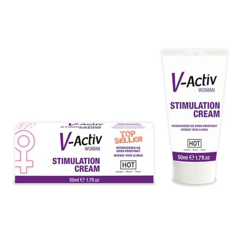 HOT V-Activ stimulation cream for women 50 ml