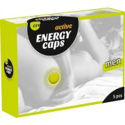 Men Energy Caps  - 5er