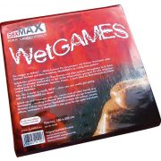 SexMAX WetGAMES Sex-Laken, 180 x 220 cm, Rot (fitted sheet, red)