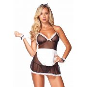 Roleplay Seductive French Maid, black & white, O/S