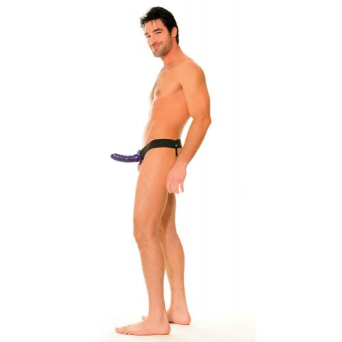 Fetish Fantasy Series Hollow Strap-on purple