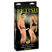 Fetish Fantasy Series Hollow Strap-on glow in the dark