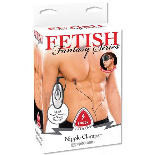 Fetish Fantasy Series Shock Therapy Nipple Clamps