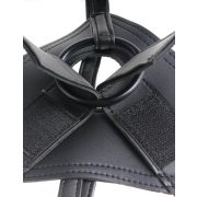 "King Cock  Strap-on Harness w/ 9"" Cock Black"