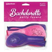 Bachelorette Party Favor Pecker Balloons 8 pcs