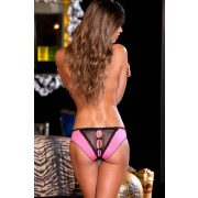 Crotchless frills panty w. back bows S/M
