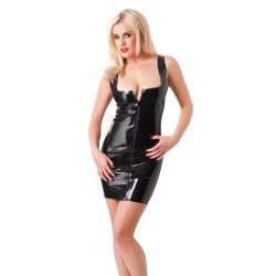 MINI DRESS WITH ZIPPER