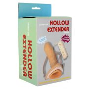 Vibrating Strap-on Hollow Extender