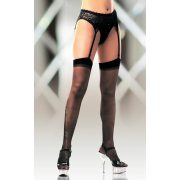 Stockings 0005    black S-L